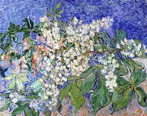 Винсент ван гог цветущая ветка